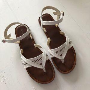TOMS Lexie Leather Strap Sandals 7